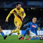 च्याम्पियन्स लिग फुटबलः नकआउट चरणको पहिलो खेलमा बार्सिलोना मुश्किलले हारबाट जोगियो