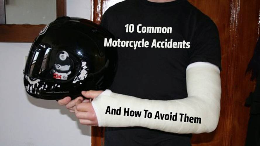 Common motorcycle crashes and how to avoid them