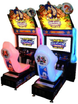 Sega Sonic All Stars Racing Arcade