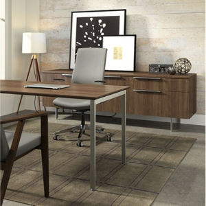 Home Office- Desk And Credenza
