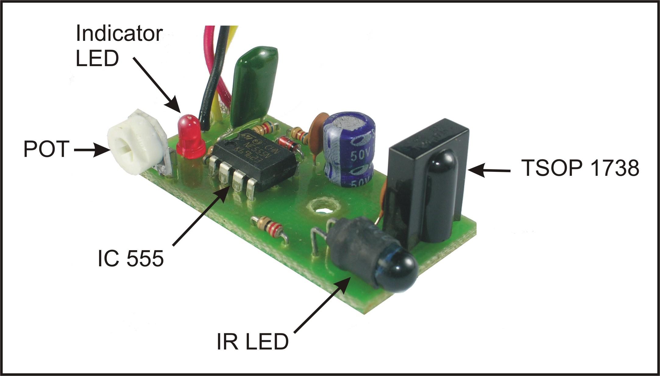 Ibot Mohit Bhoite Infrared Sensor Circuit