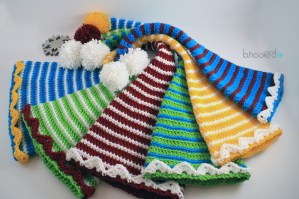 Crochet Elf Hats for the Entire Family