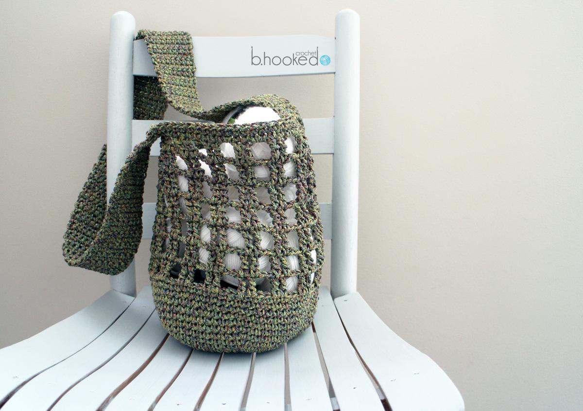 Crochet Market Bag - Free Pattern - B.hooked Crochet