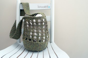 crochet market bag