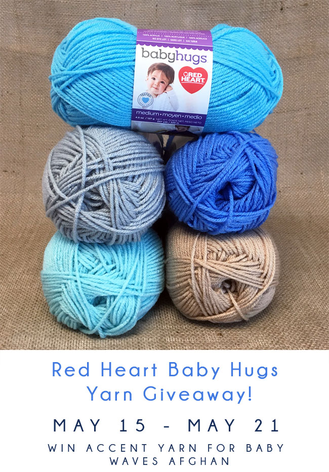 Baby Hugs Yarn Giveaway copy