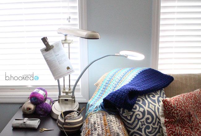 Ottlite Led Ultimate  In  Lighted Craft Lamp