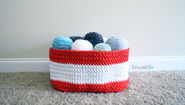 Crochet Stash Basket