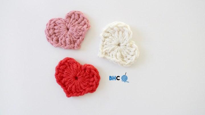 crochet heart