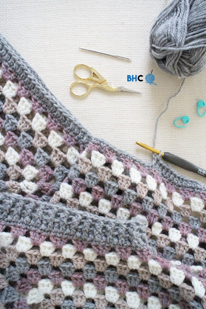 coziest crochet cardigan