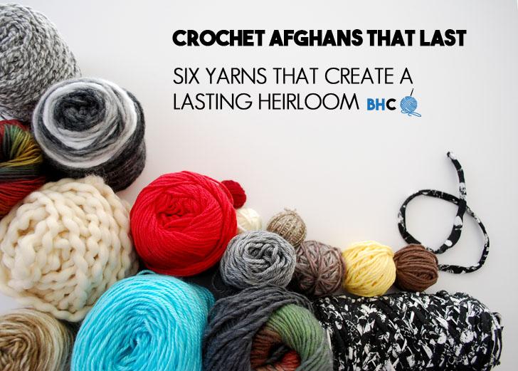 6 Best Yarn To Crochet Afghans That Last Bhooked Crochet