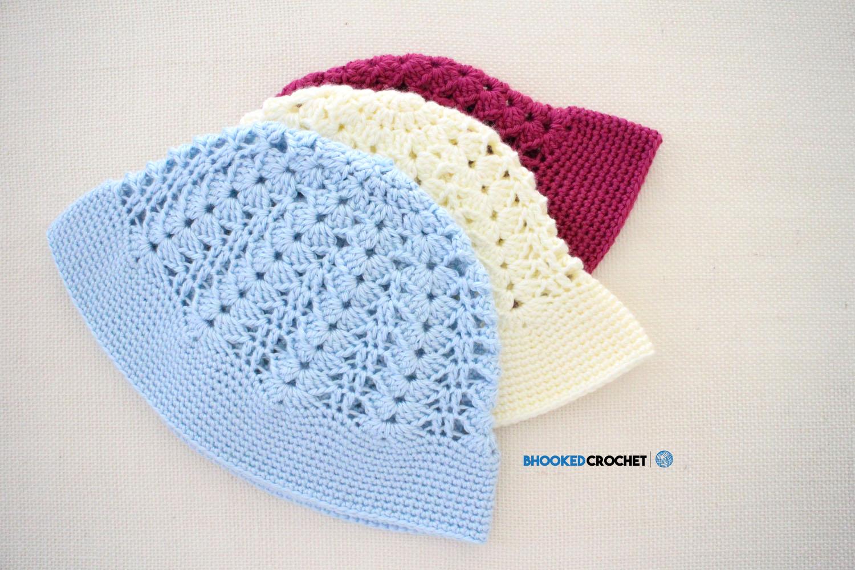 Crochet Sun Hat Free Pattern Bhooked Crochet