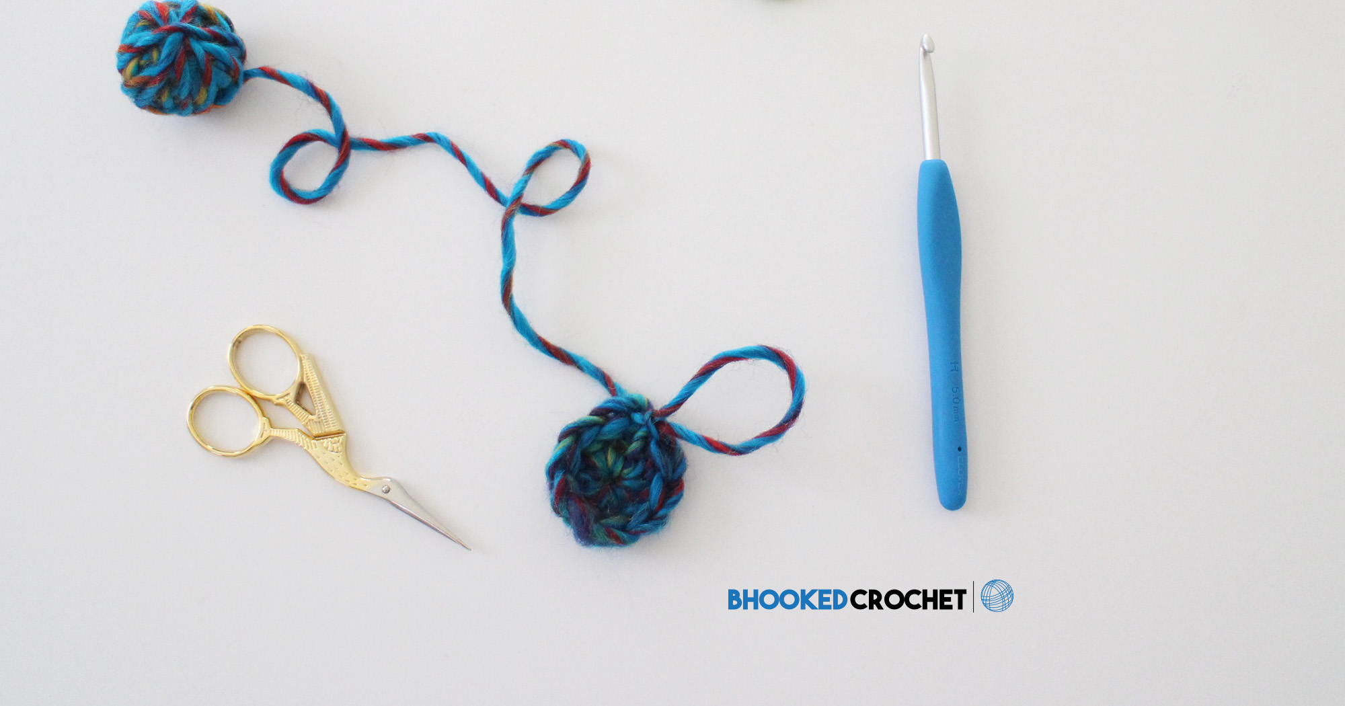 Crochet Magic Ring - Video Tutorial for Three Stitches