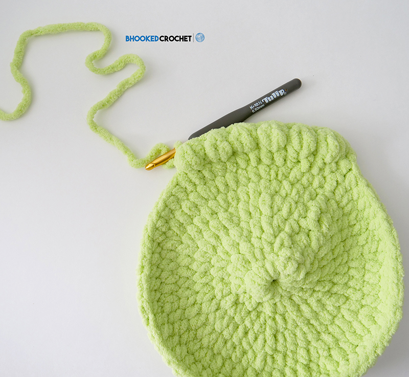 Bernat Crochet Baby Cocoon As A Frog Bhooked Crochet Knitting
