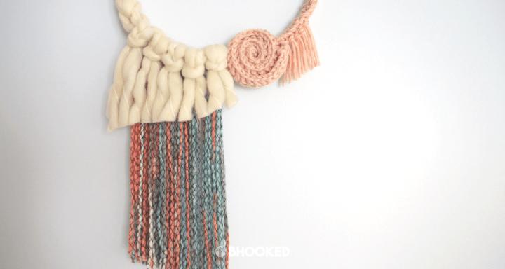 Easy Crochet Wall Hanging | Free Crochet Pattern & Video Tutorial