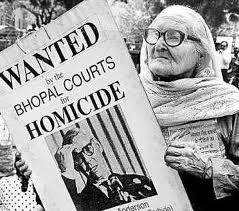Union Carbide Dow Warren Anderson wanted in court for Bhopal gas disaster