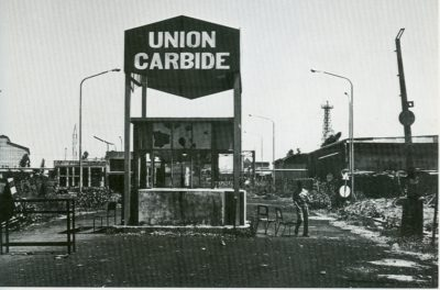 Union Carbide factory in Bhopal before the disaster