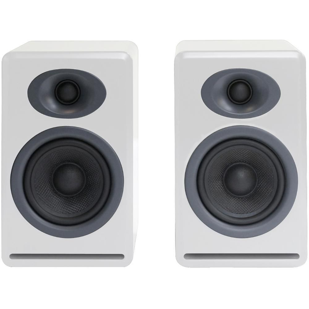 audioengine p4 2-way passive bookshelf speakers ap4w b&h photo