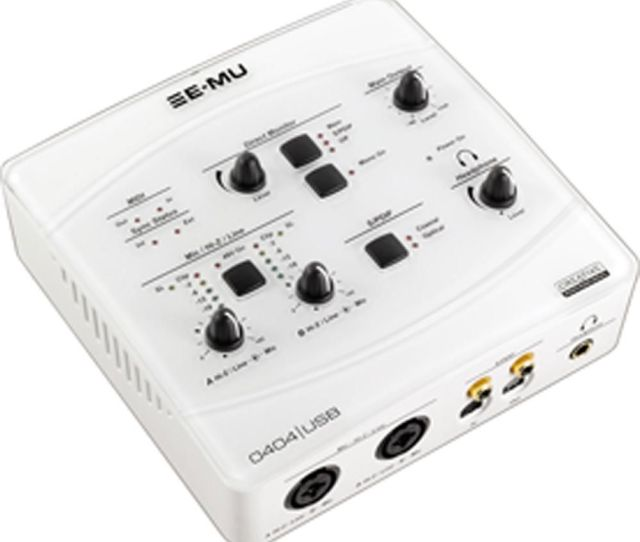 E Mu  0 Audio Midi Interface White