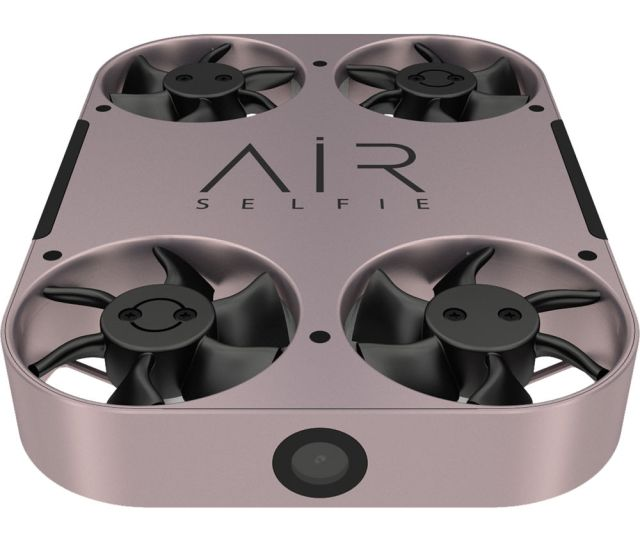 Airselfie Airselfie2 Portable Camera Drone With Power Bank Rose Gold