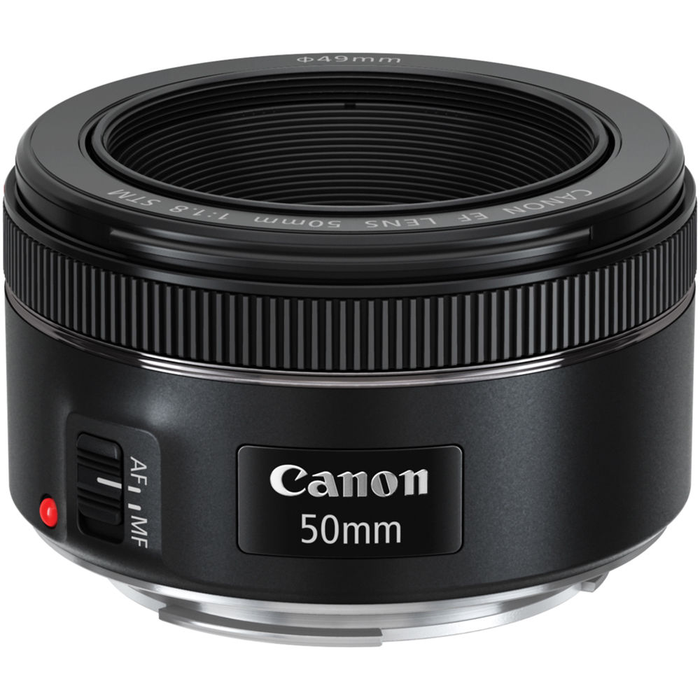 Canon EF 50mm f/1.8 STM Lens 0570C002 B&H Photo Video
