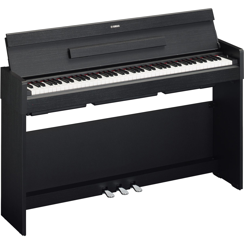 Yamaha Arius Ydp S34 Digital Piano Black Walnut Ydps34b B Amp H