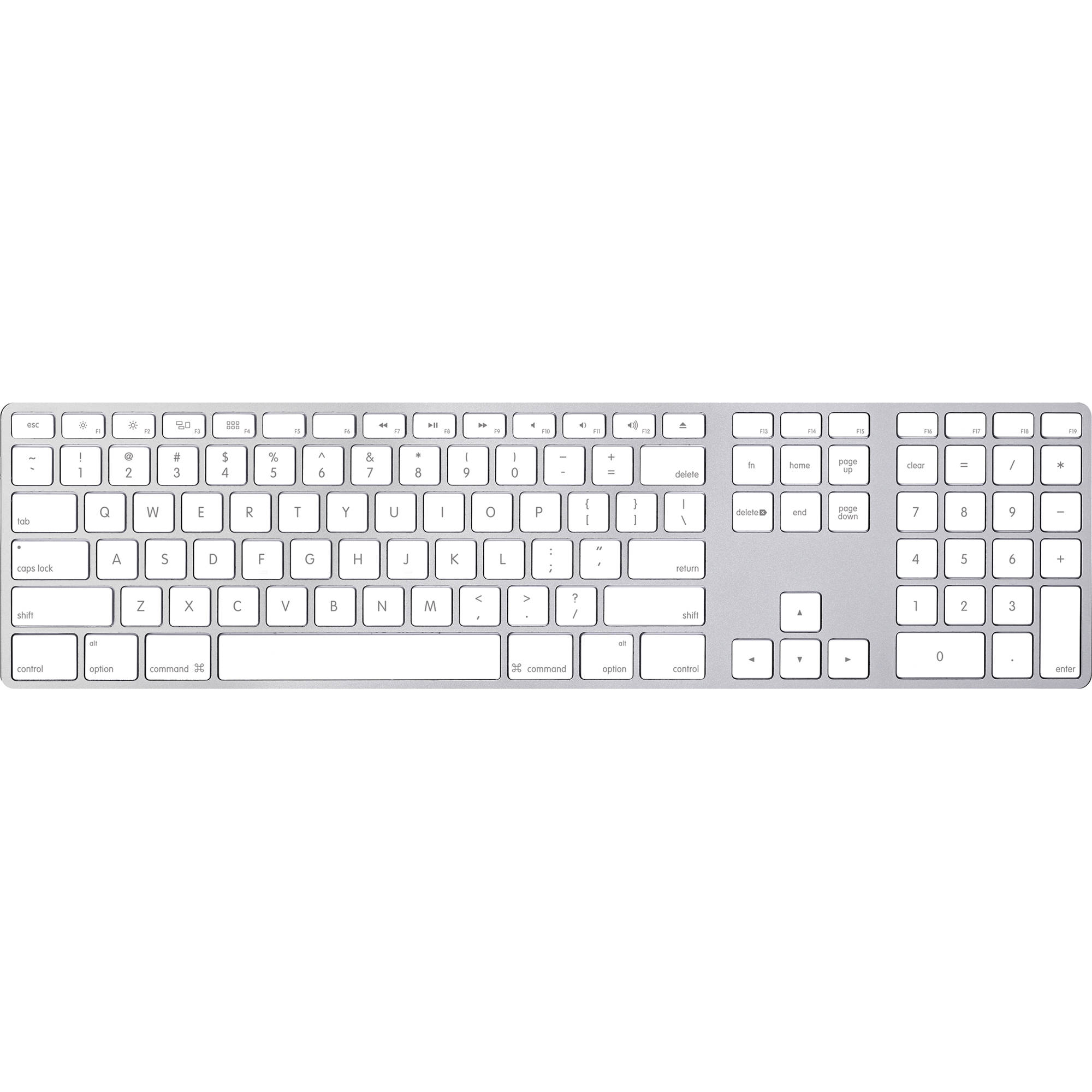 apple keyboard with numeric keypad - english (usa) mb110ll/b b&h