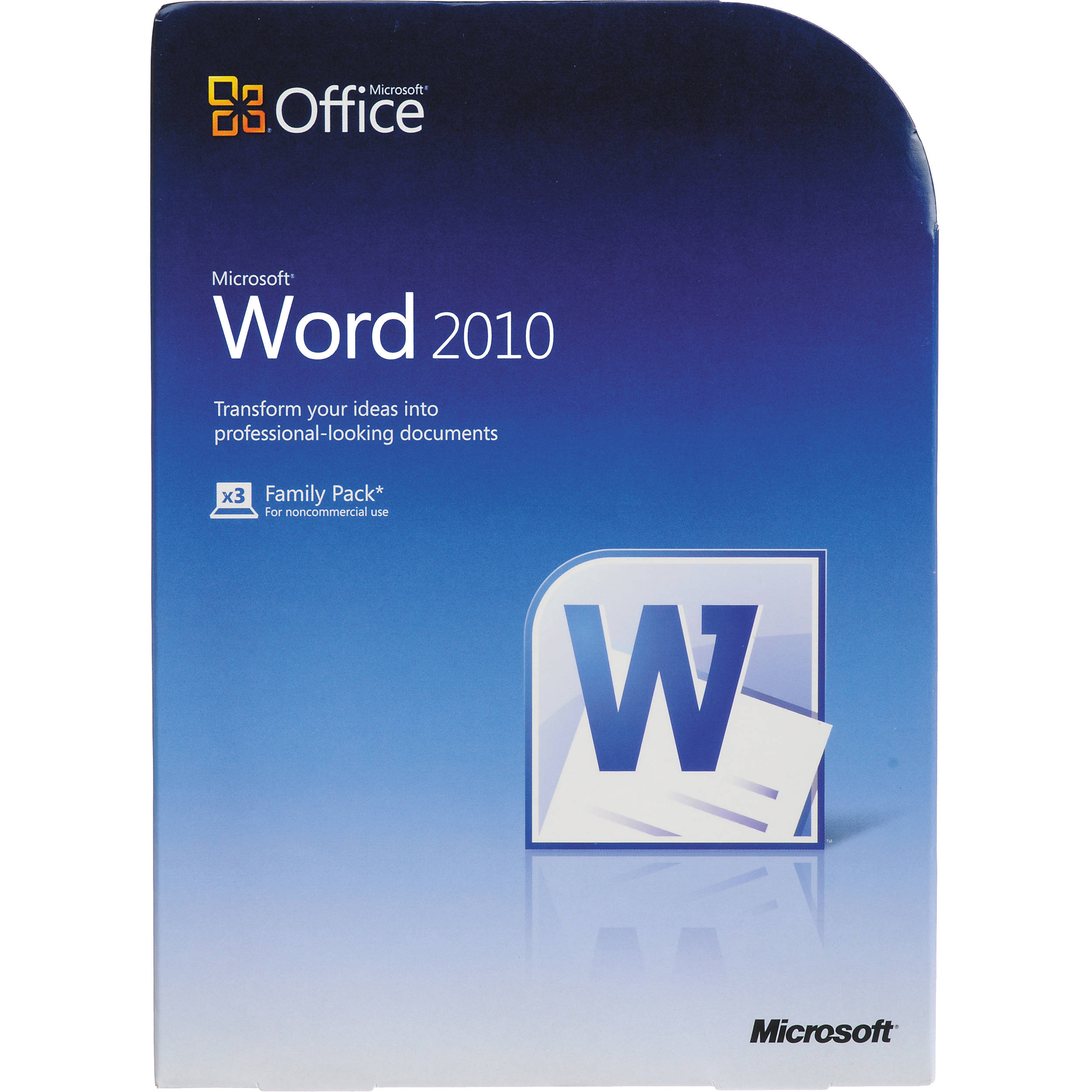 Microsoft Word Home And Student Software 79f B Amp H