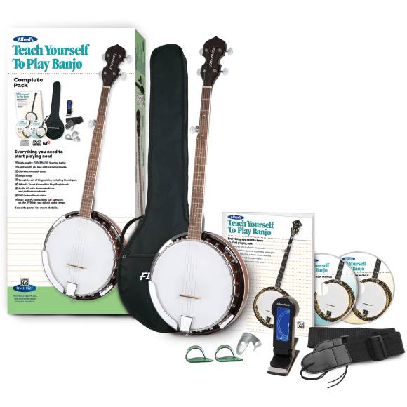ALFRED Teach Yourself To Play Banjo Starter Pack - 00 ...