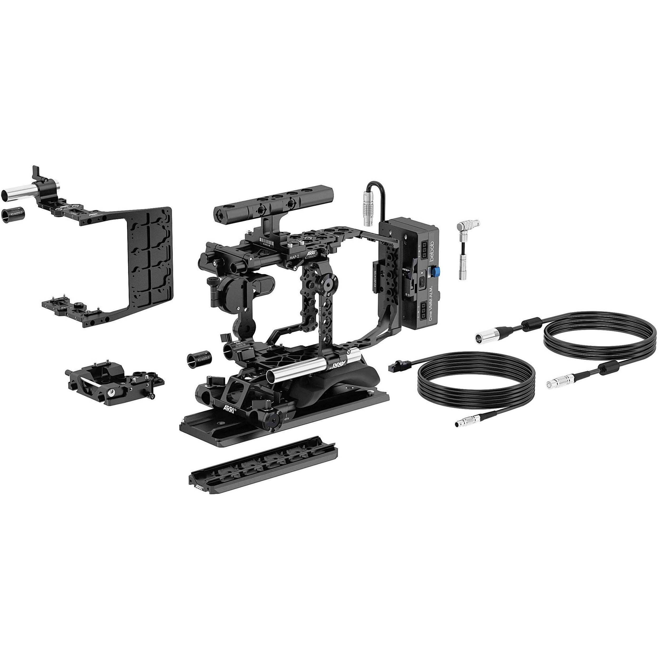 Arri Studio 19mm Set For Alexa Mini V Mount Kk B Amp H