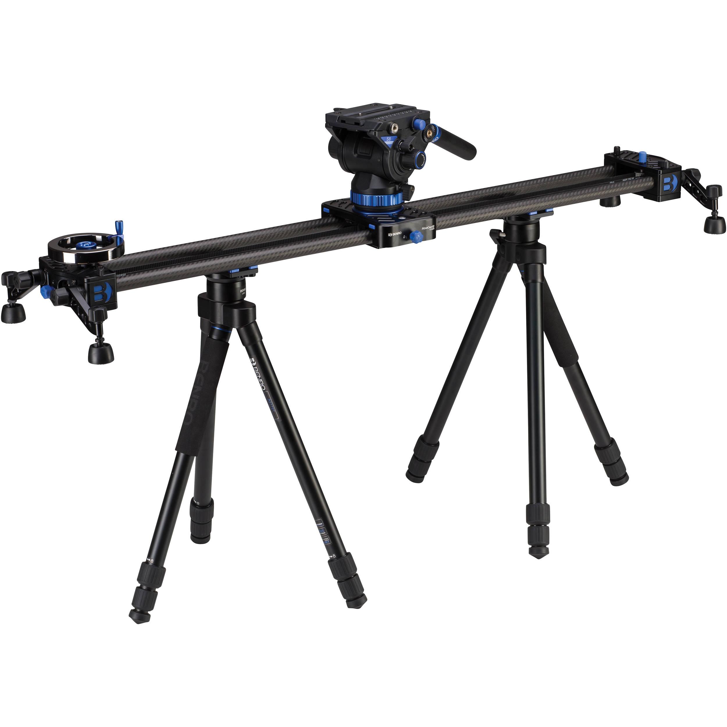 Benro Moveover12 35 4 Dual Carbon Rail Slider C12d9k1
