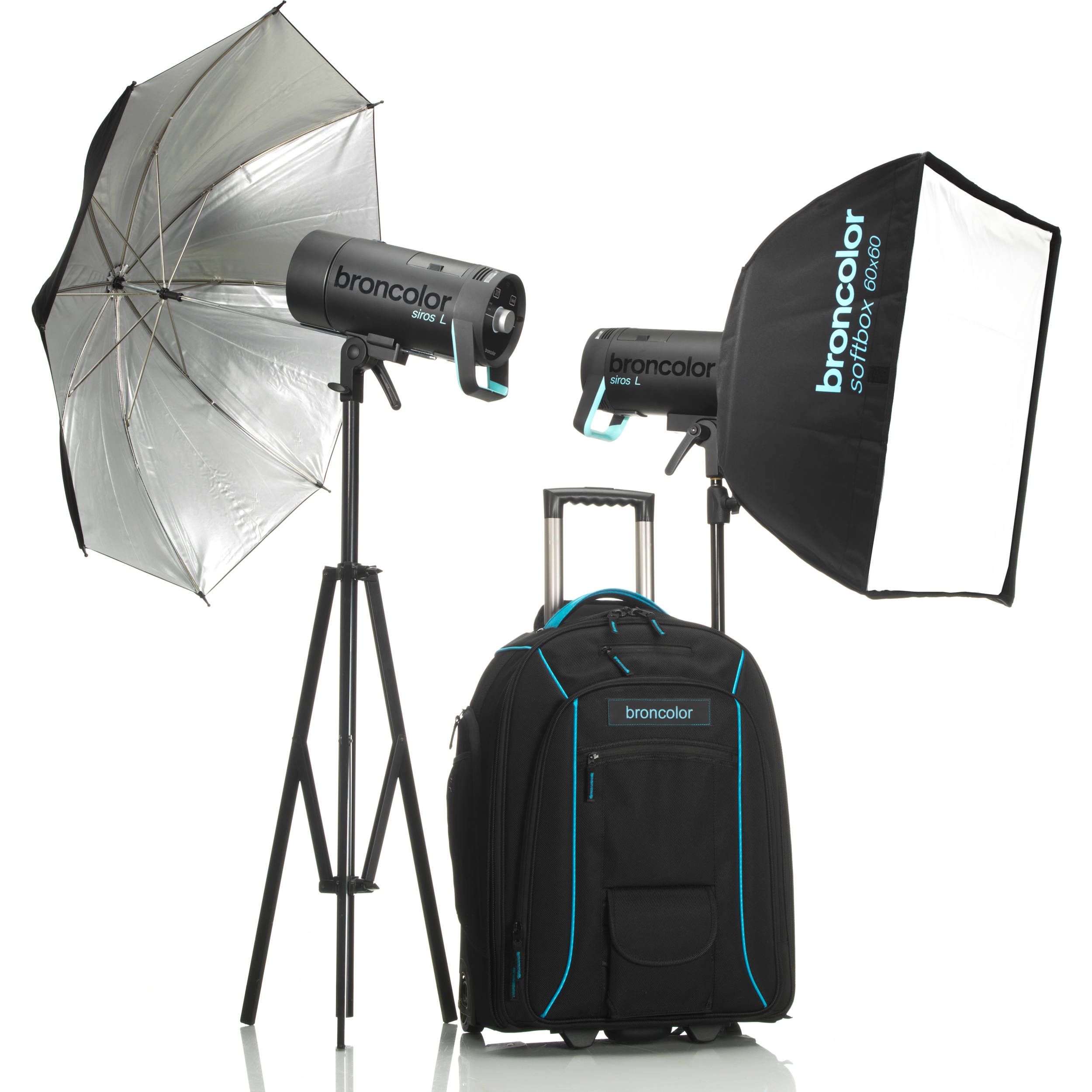 broncolor siros 800 l battery powered 2 light outdoor kit 2