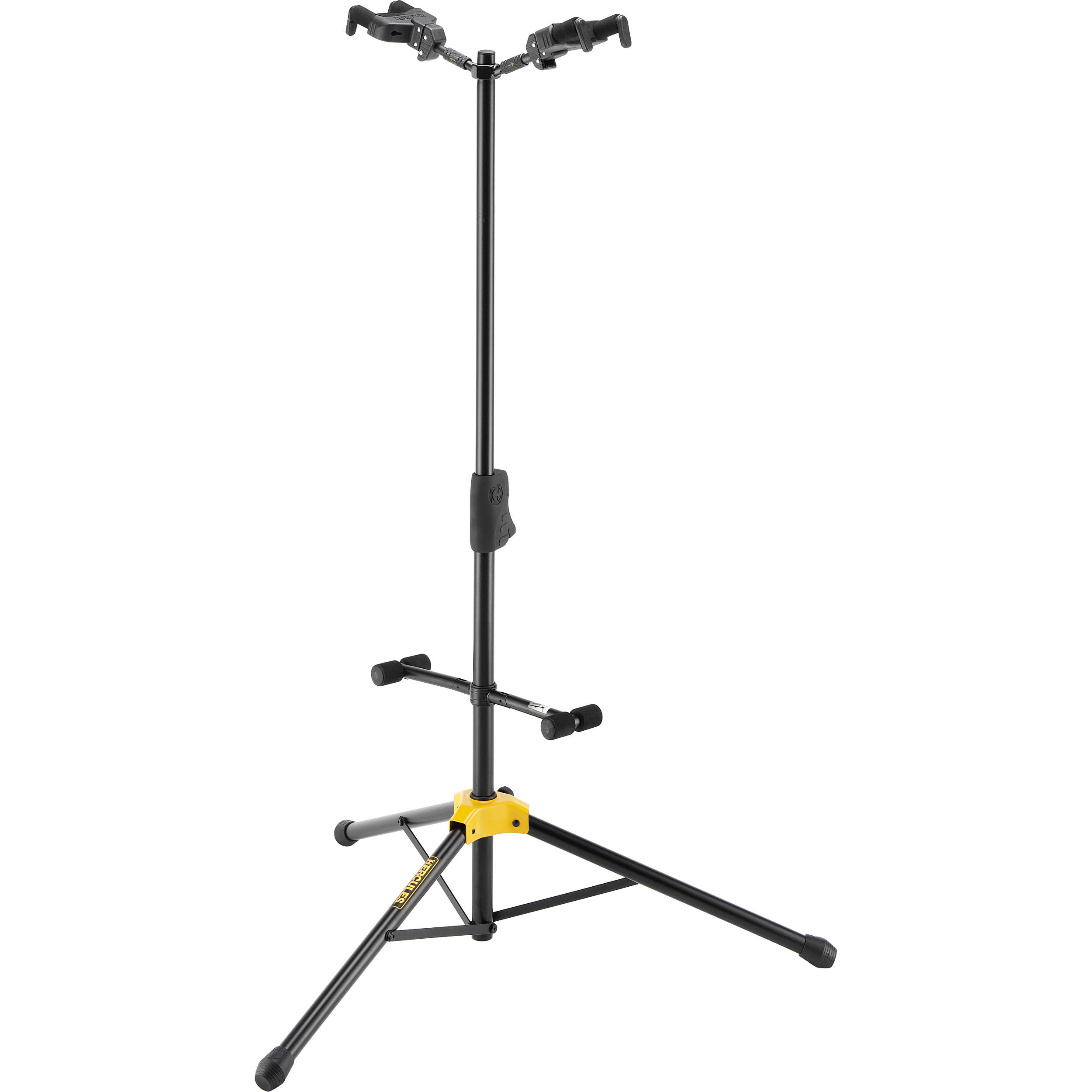 Hercules Stands Auto Grip System Ags Duo Guitar Stand Gs422b B Amp H