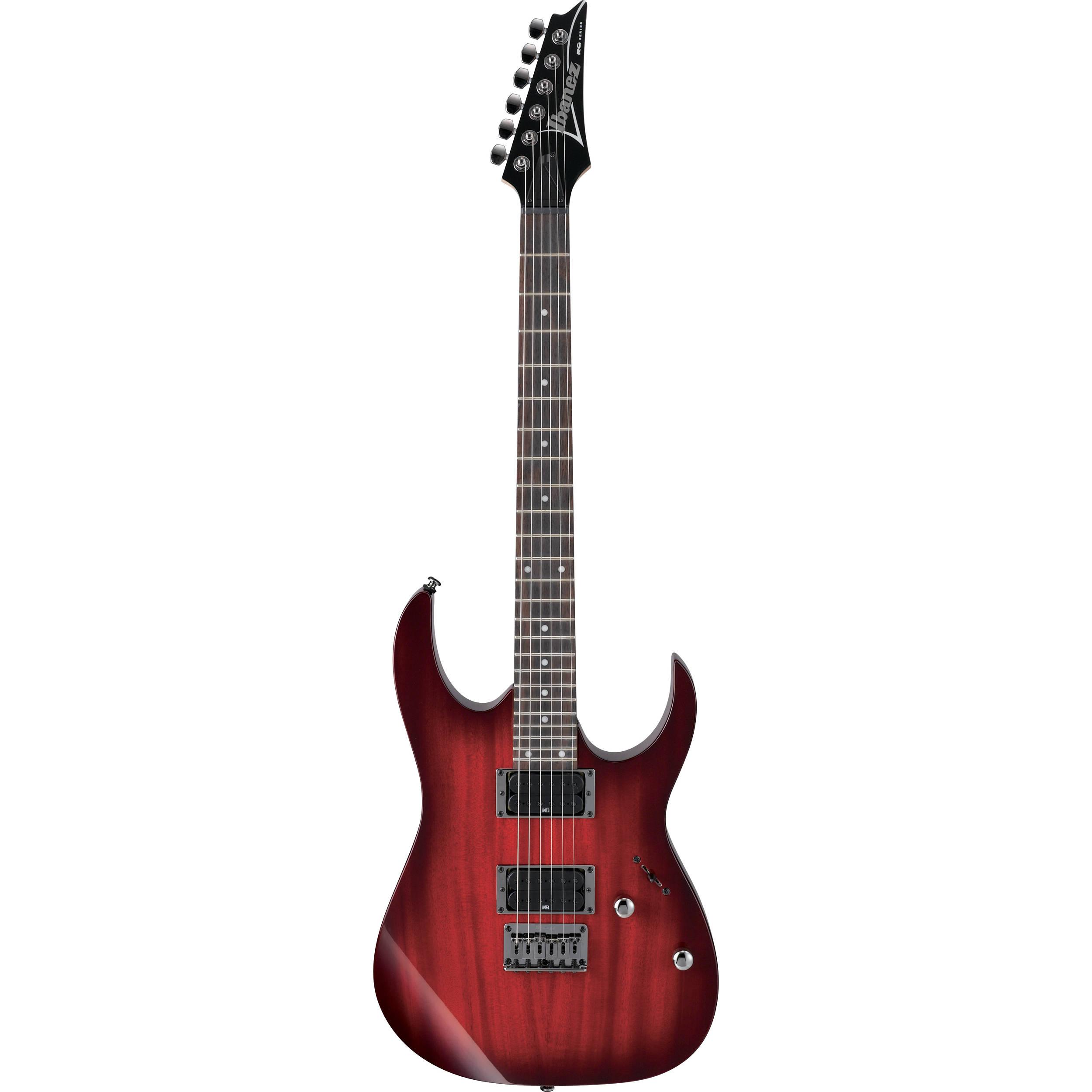 Ibanez Rg421 Electric Guitar Blackberry Sunburst