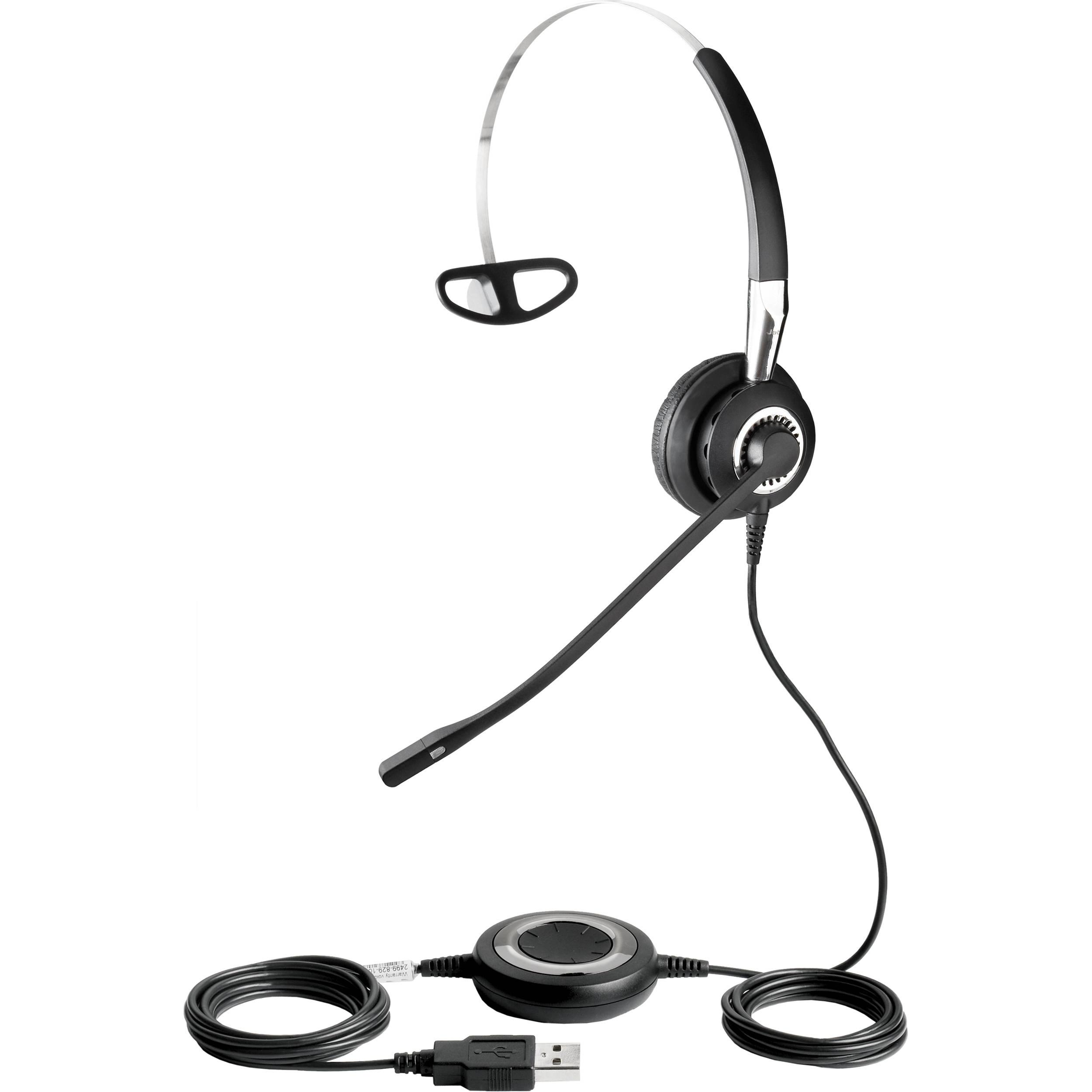 Jabra Biz Usb Mono Headset 829 105 B Amp H Photo Video