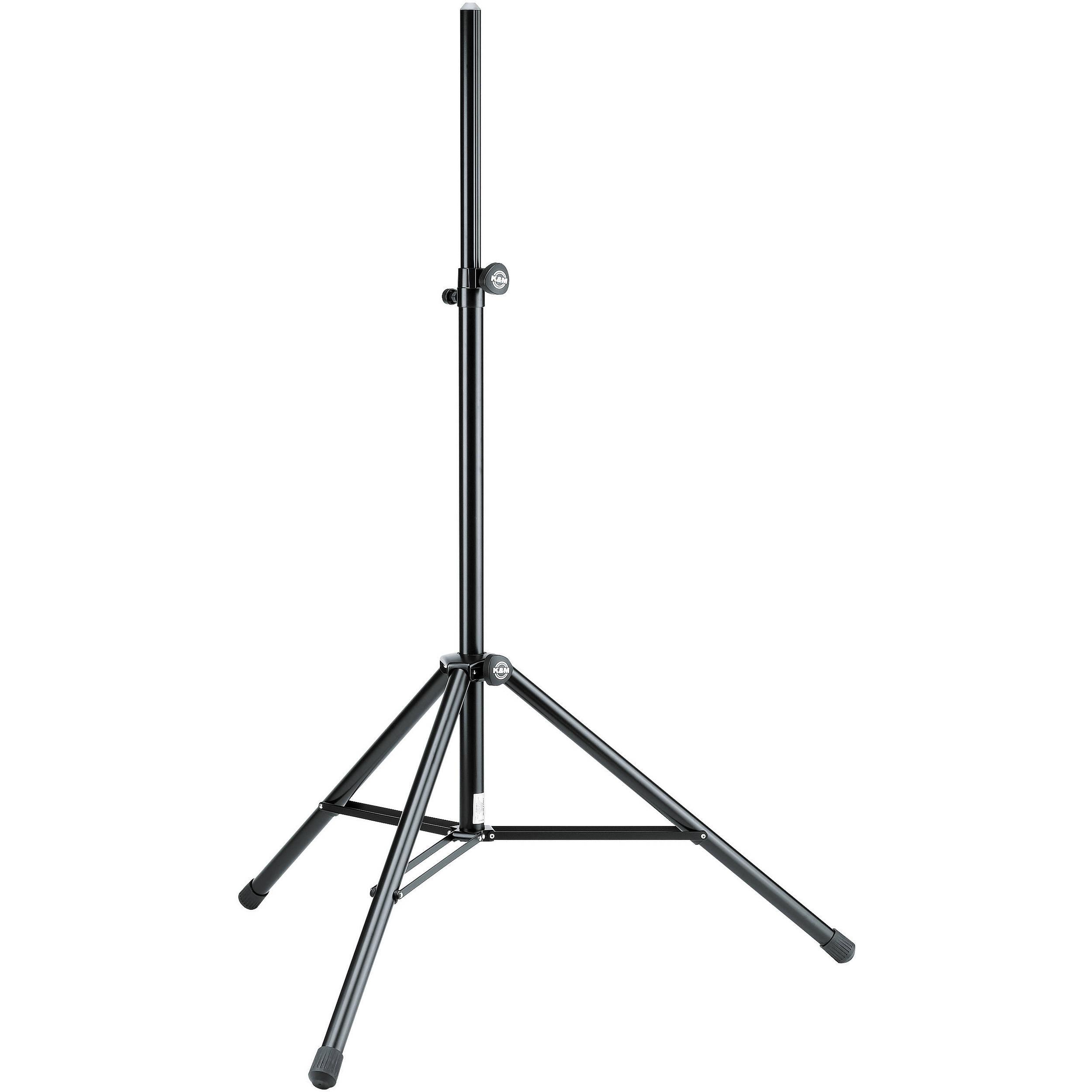 K Amp M Speaker Stand Black 000 55 B Amp H Photo Video