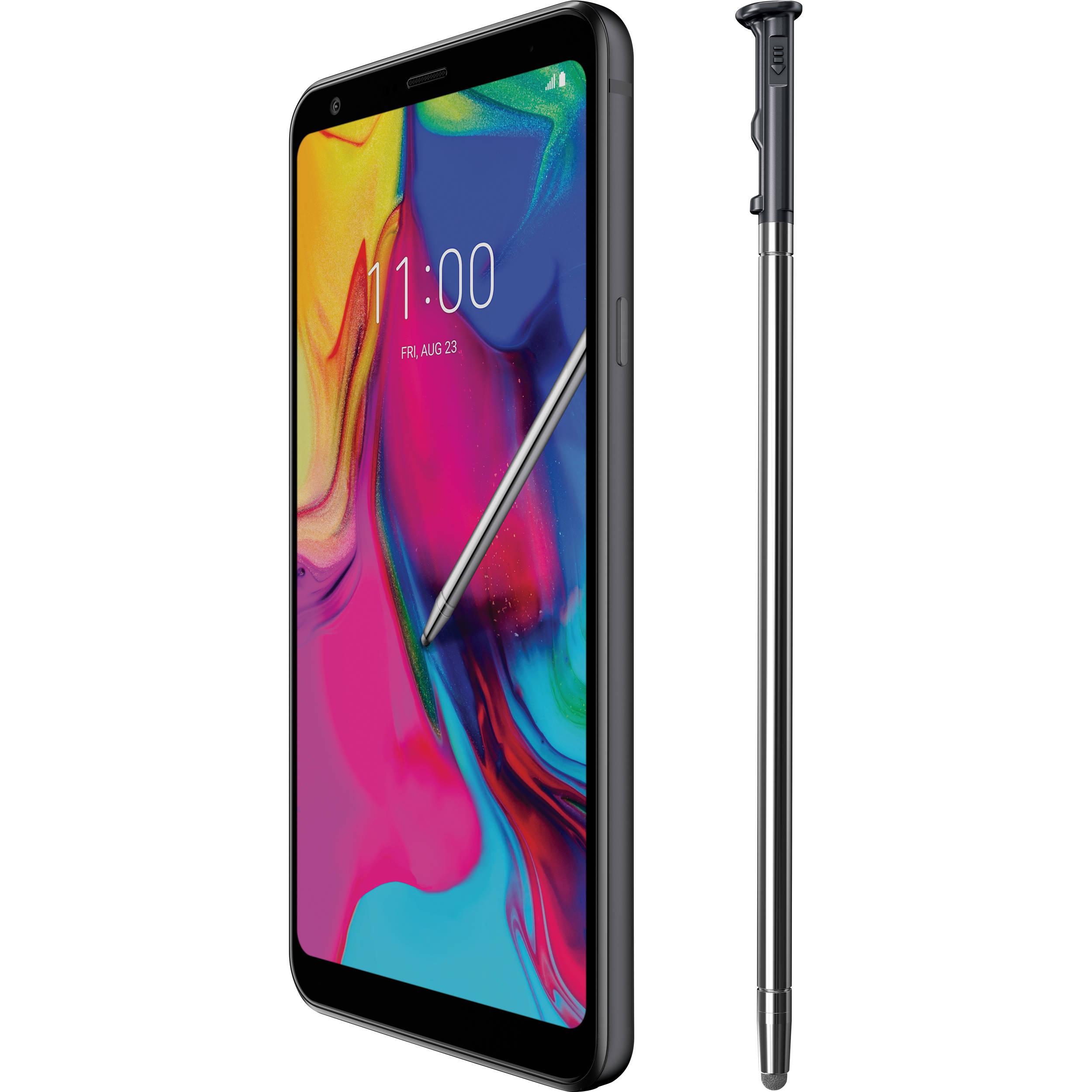 Used Lg Stylo 5 32gb Smartphone Unlocked Lmq720qm Ausabk B H