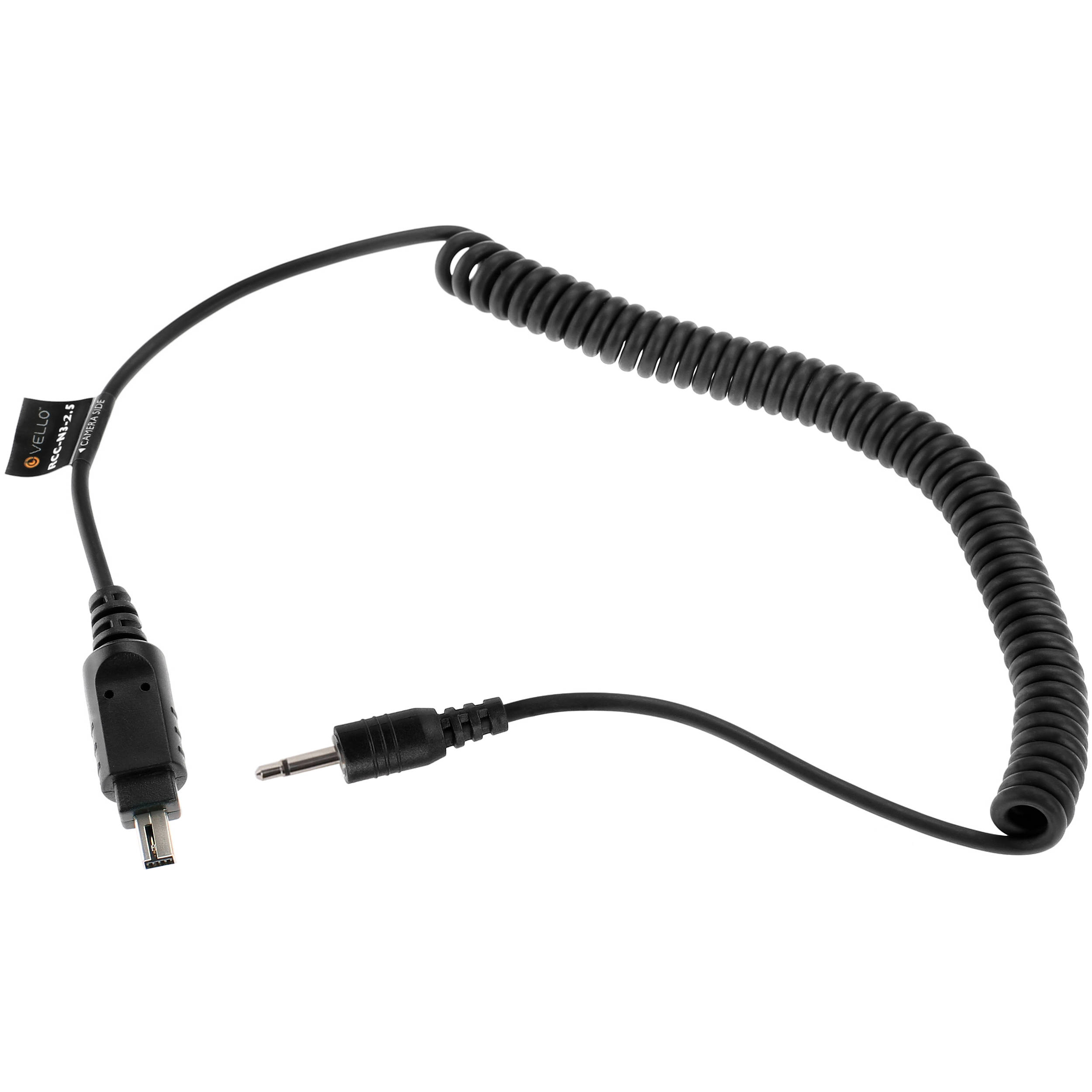 Vello 2 5mm Remote Shutter Release Cable For Nikon Rcc N3 2 5