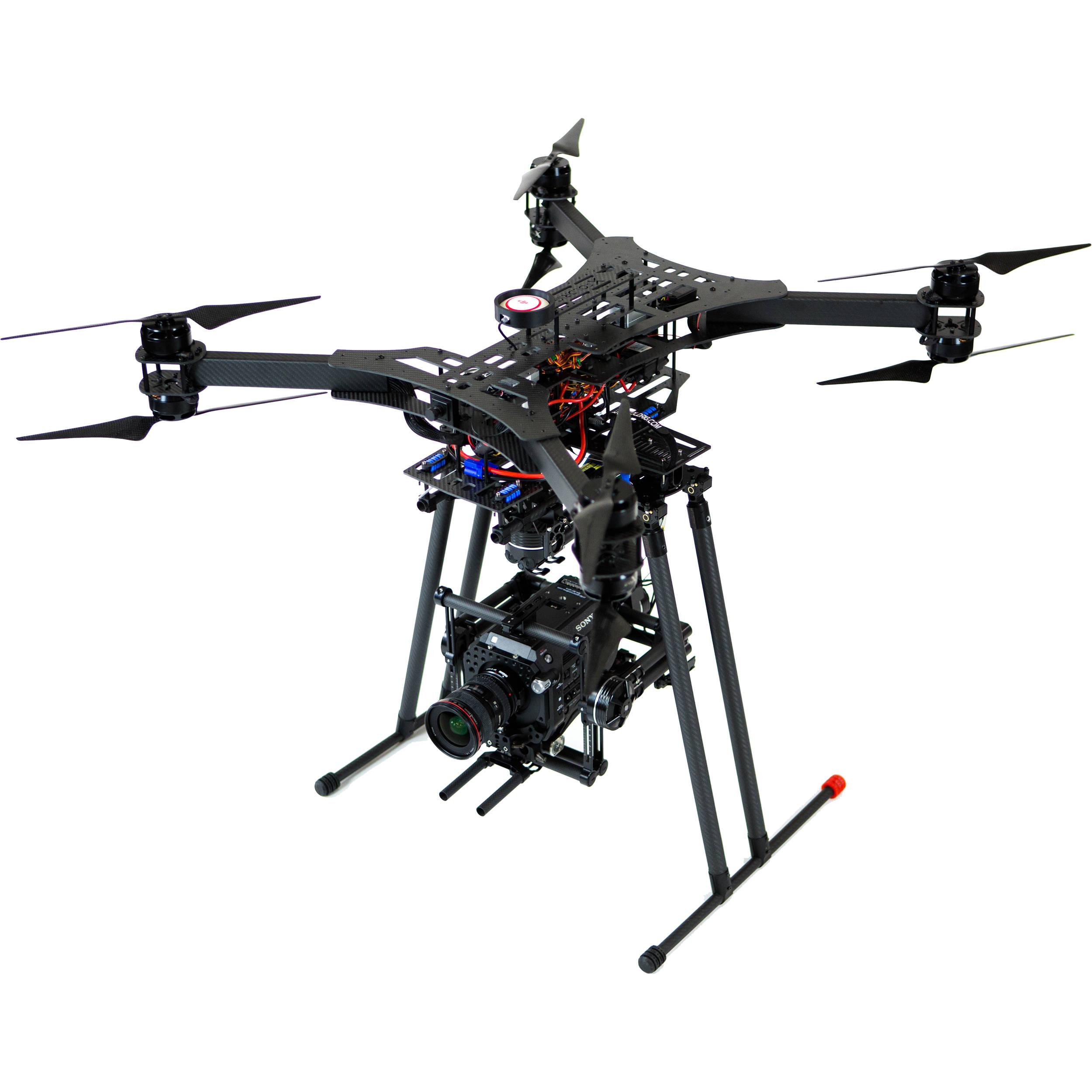 Xfold Rigs Cinema X8 U7 Drone With 3 Axis Gimbal Cinema 8urtf
