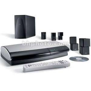Bose Lifestyle48 III Home Theater System (Black) 40448 B&H