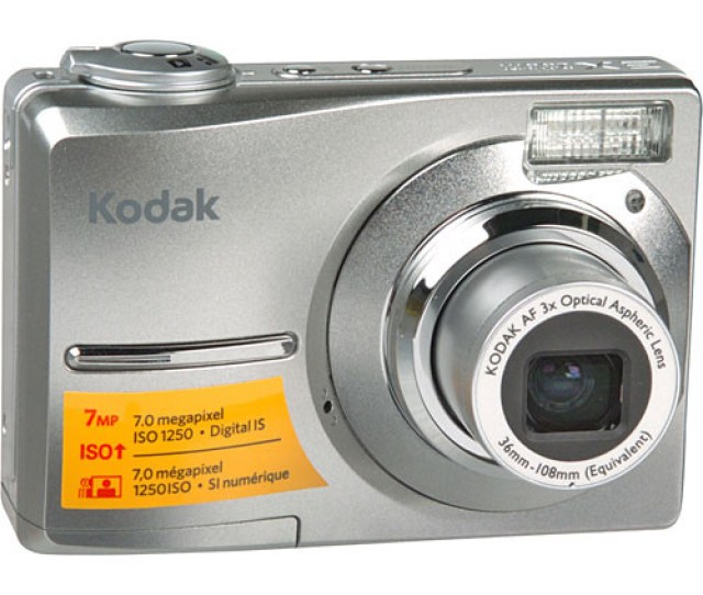 Kodak Easyshare C713 Digital Camera Silver