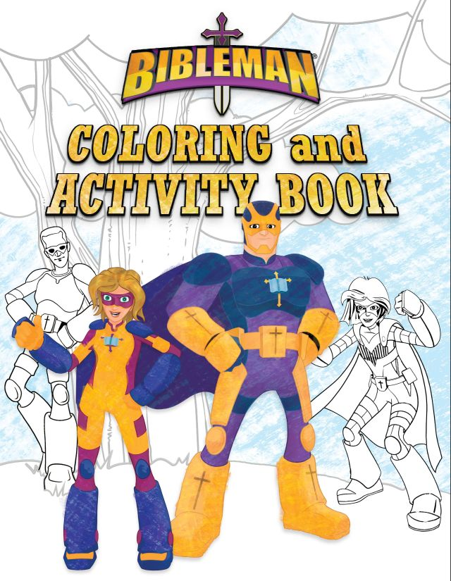 Bibleman Coloring and Activity Book - B&H Publishing