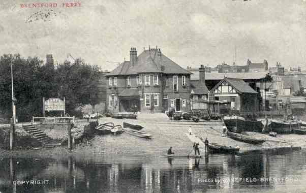 Ferry crossing at Brentford