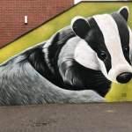 WC Dashof - Das muurschildering