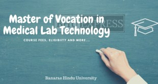 Master of Vocation in Medical Lab Technology