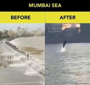 Mumbai Sea