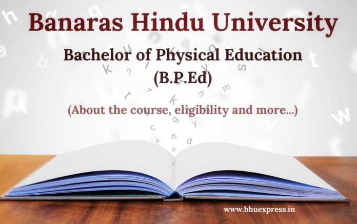 B.P.Ed Course