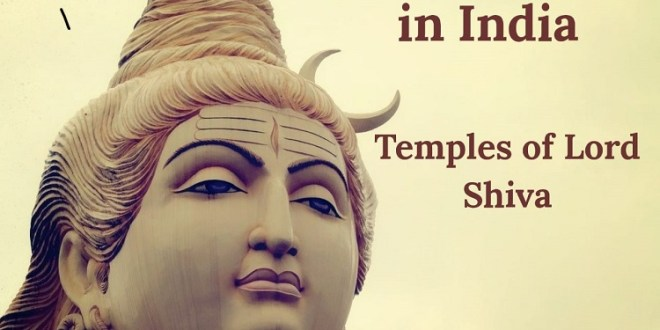 Temples of Lord Shiva