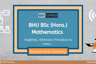 BSc (Hons.) in Mathematics at Banaras Hindu University