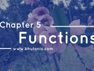Functions by THE BHUTAN IO