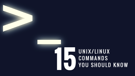 15 Linux Commands You Should Know